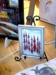 picture of framed glass art